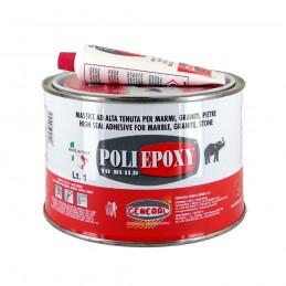 Mastic PoliEpoxy Alb 1 Litru